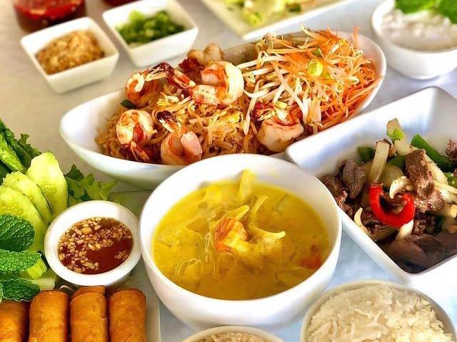 Mailes Thai Food Spread 2 Jpg