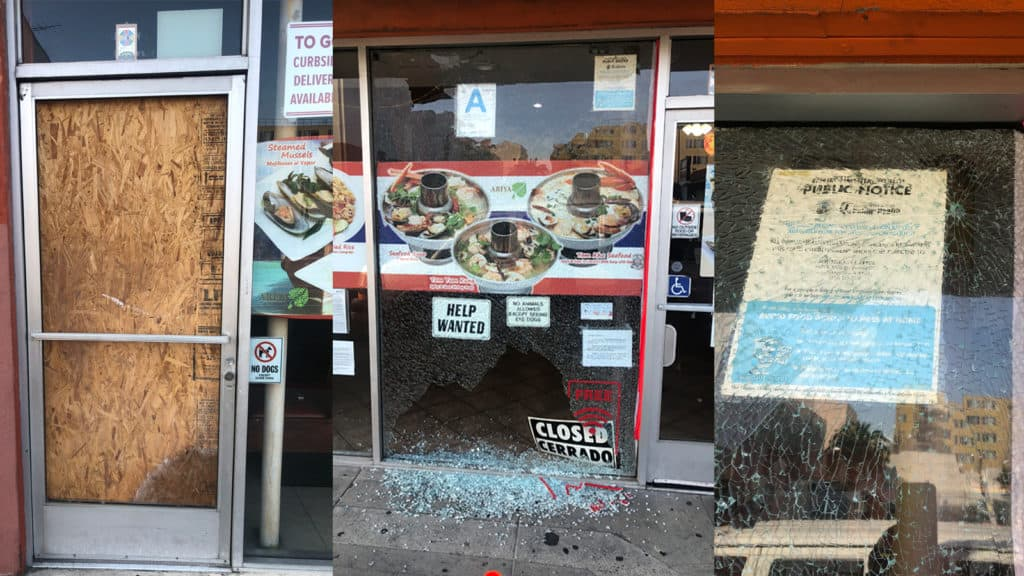 Hate Crime Not Ruled Out in Thai Restaurant That Was Attacked Two Days in a Row in Huntington Park