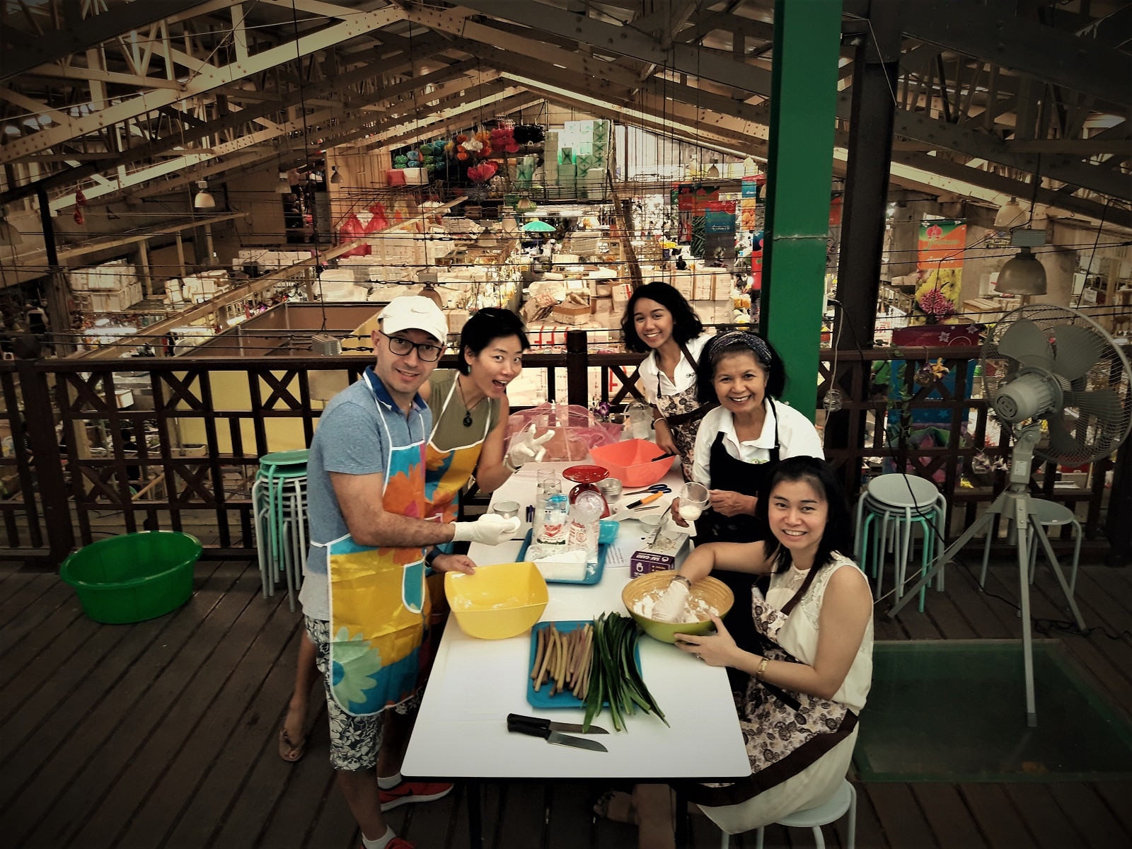 Thai Cooking with a Twist | The Market Experience