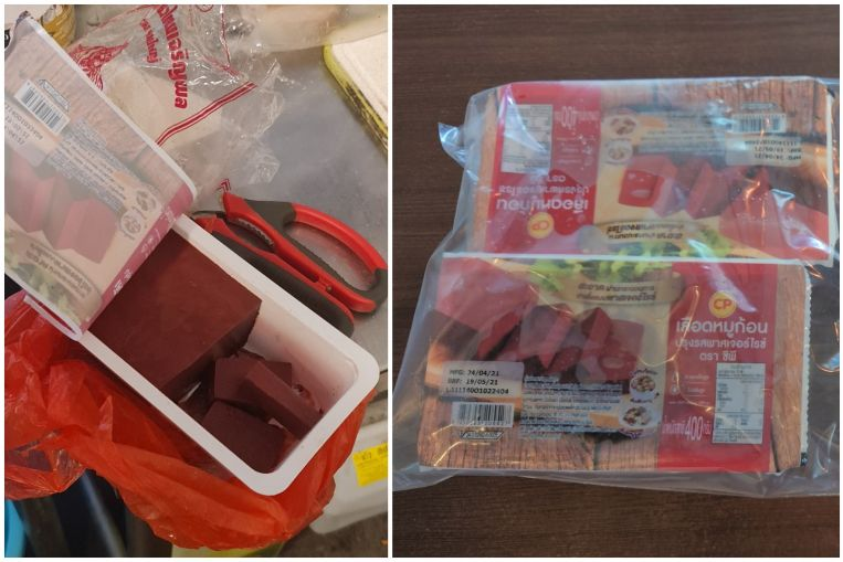Thai restaurant at Golden Mile Tower under investigation for selling pig blood curd