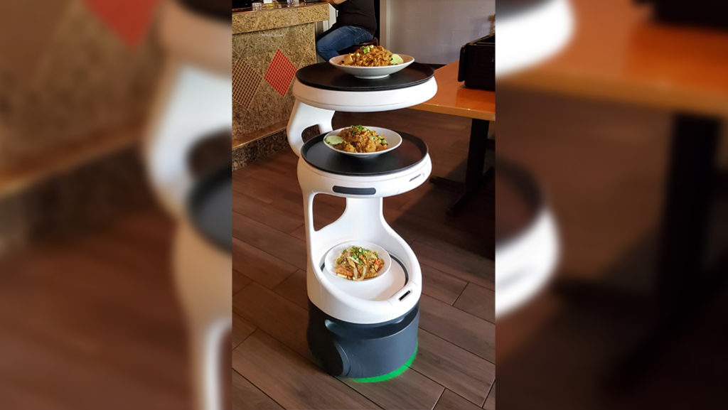 Twin Cities Thai Restaurant Hires Robot Server Amid Staffing Shortage