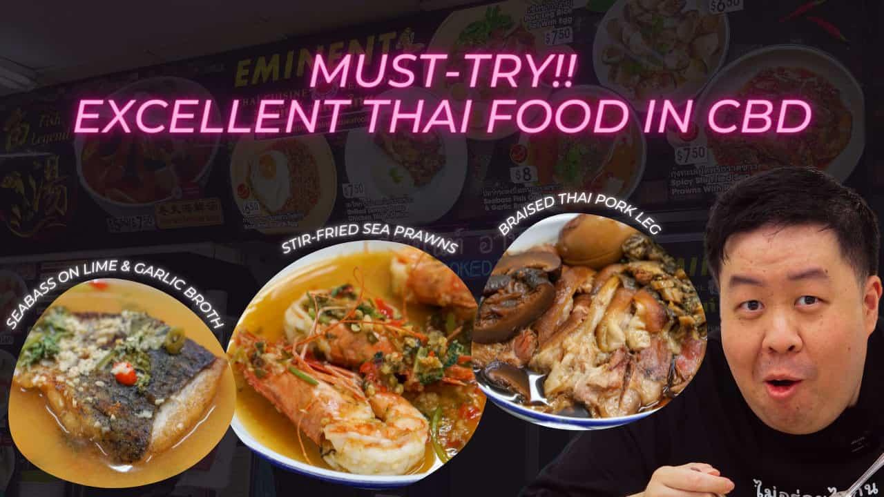 Eminent Thai Cuisine and Seafood - Excellent Thai Food in the CBD - AroiMakMak